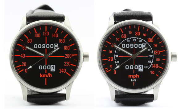 CB 900 F Bol d'Or speedometer kmh and mph watches