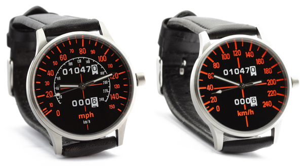 CBX speedometer kmh and mph watches